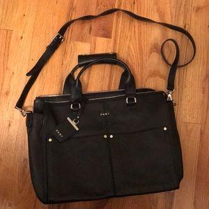 DKNY Black Messenger Bag